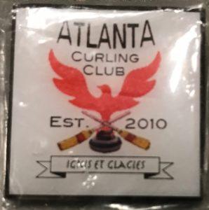 Atlanta Curling Club Pin - Square