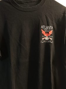 Atlanta Curling Club T-shirt - Black