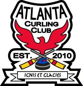 Sticker - Atlanta Curling Club Shaped Logo