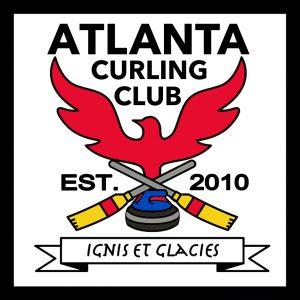 Sticker - Atlanta Curling Club Square Logo