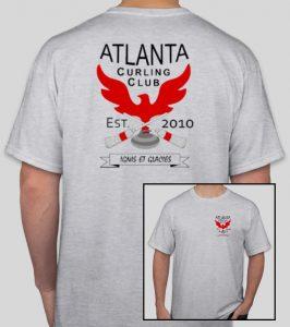 T-shirt - Atlanta Curling Club - Gray