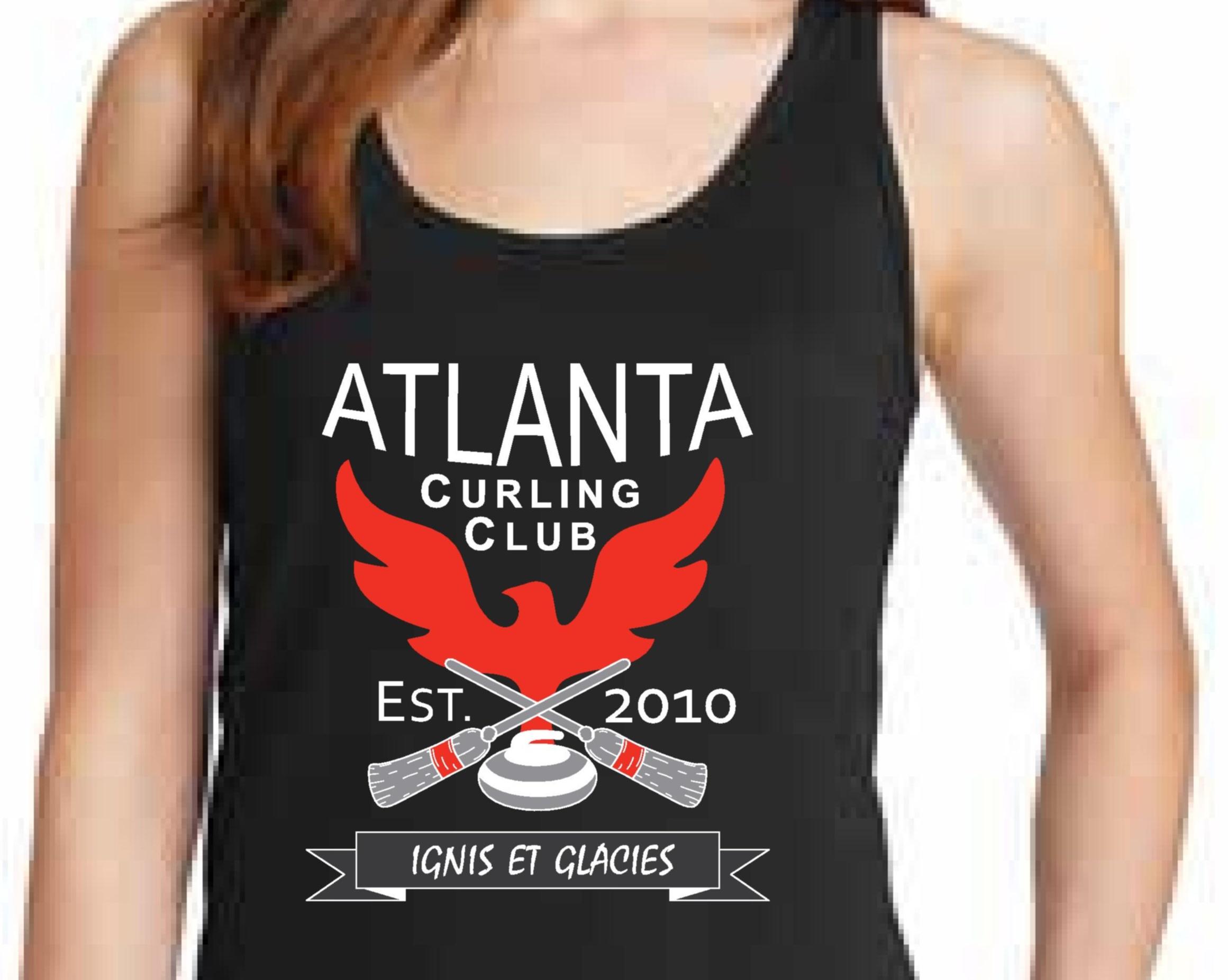 Tank Top - Atlanta Curling Club - Black
